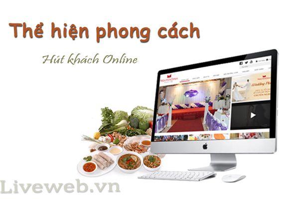 Thiết kế website nhà hàng chuyên nghiệp,chuẩn Mobile, đầy đủ chức năng.Thể hiện phong cách - Hút khách online với những mẫu website nhà hàng độc đáo.
