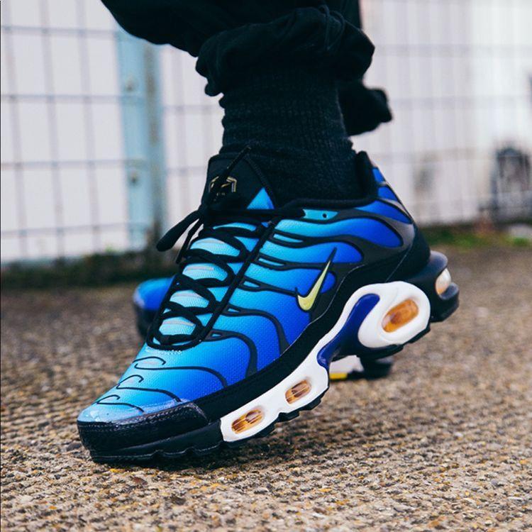 Nike TN blue | Chaussures nike, Tn nike, Chaussure sneakers