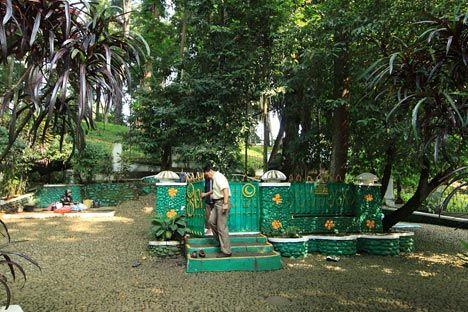 ancient cemetry - inside the botanical garden     it beliefs its belong to Queen Galuh Mangku Alam - Prabu Siliwangi (Kings of Pasundan dan Kingdom)