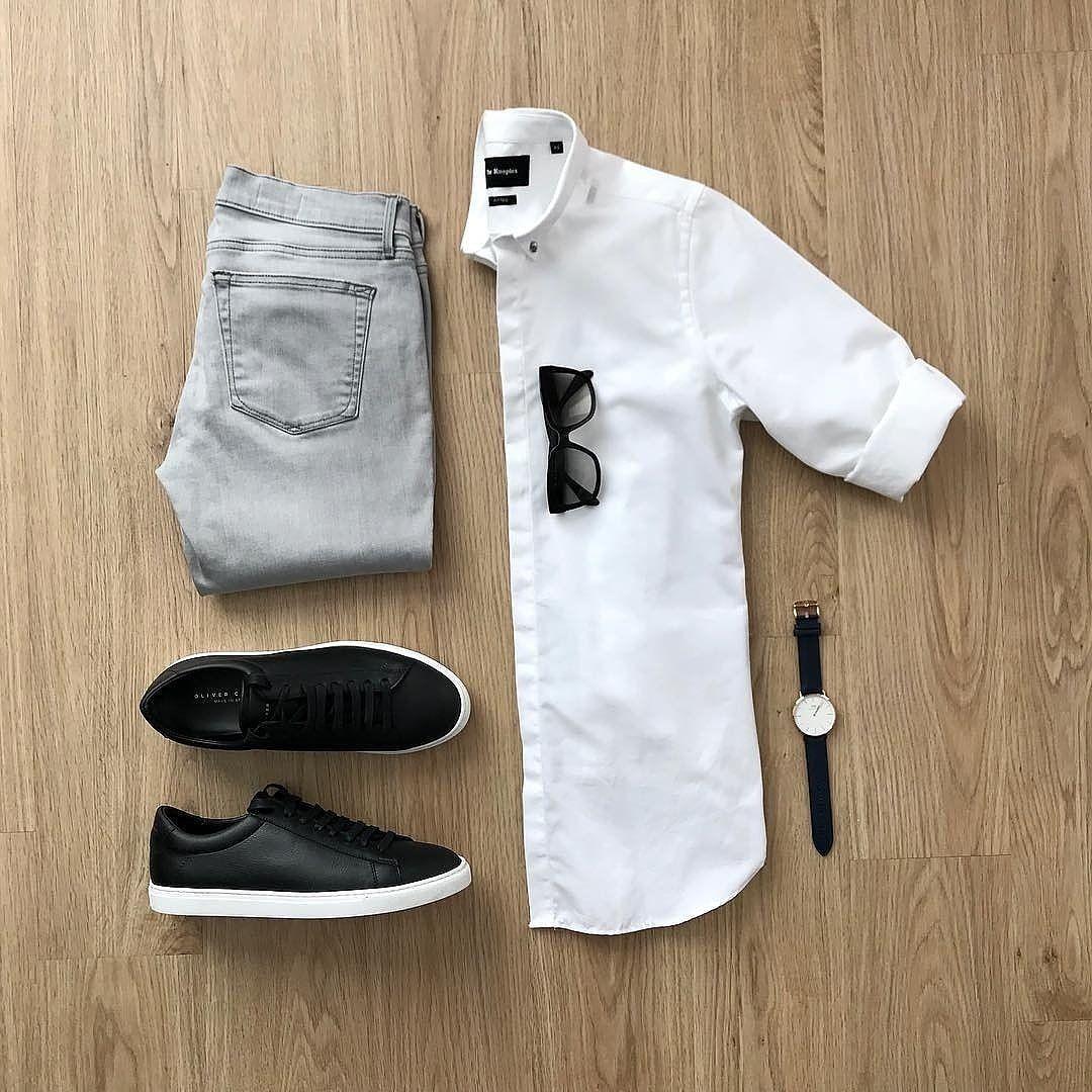 7 idées de tenues de chemise blanche de notre Instagram   – Ropa Casual