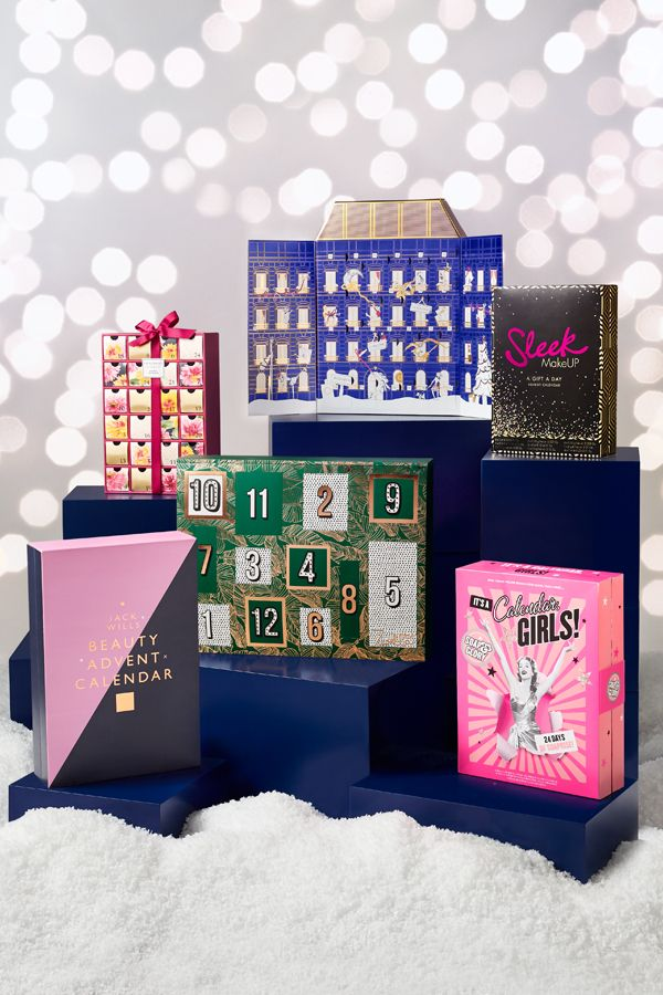 The Countdown To Christmas Has Never Been So Glam Treat Yourself Or A Loved One To One Of Our Beauty Advent Calendar Sleek Makeup Christmas Advent Calendar