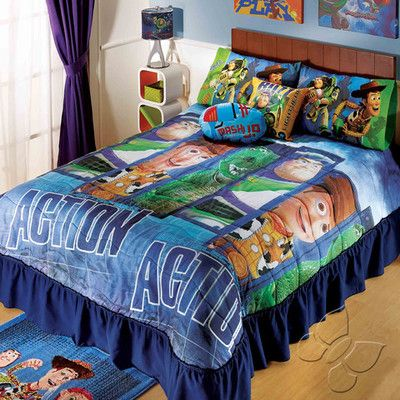 Toy Story Action Bedspread Set Twin For The Bedroom Pinterest