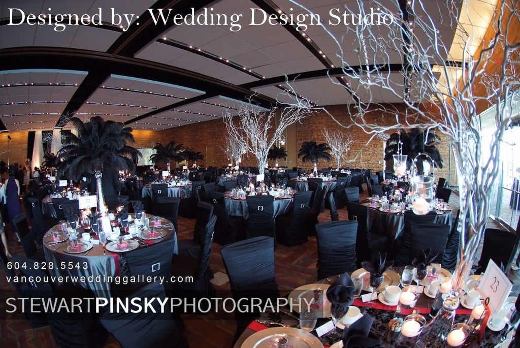 Wedding Design Studio: Glamour at The Vancouver Convention Centre