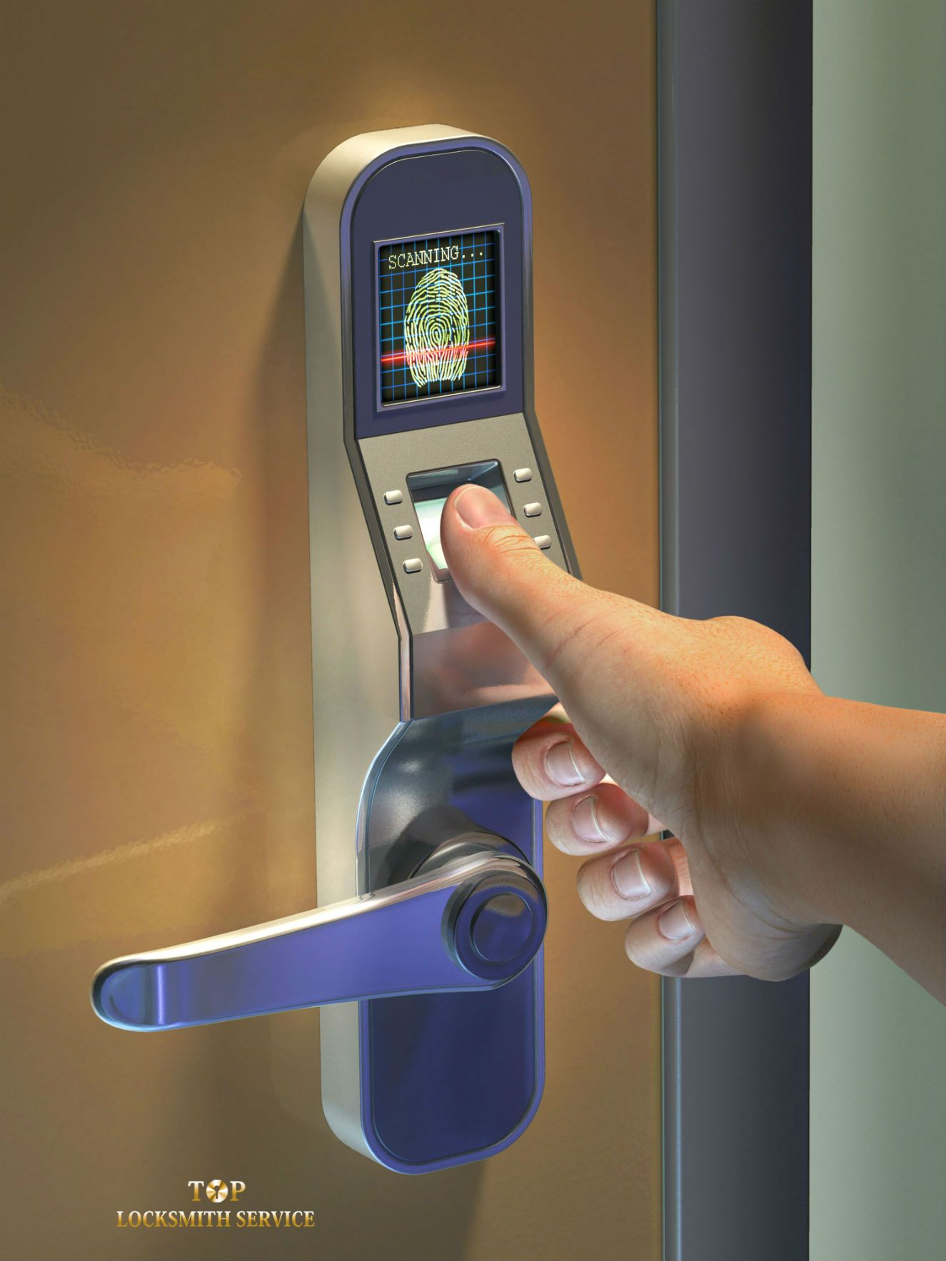 Biometrics for Access Control enhances building security