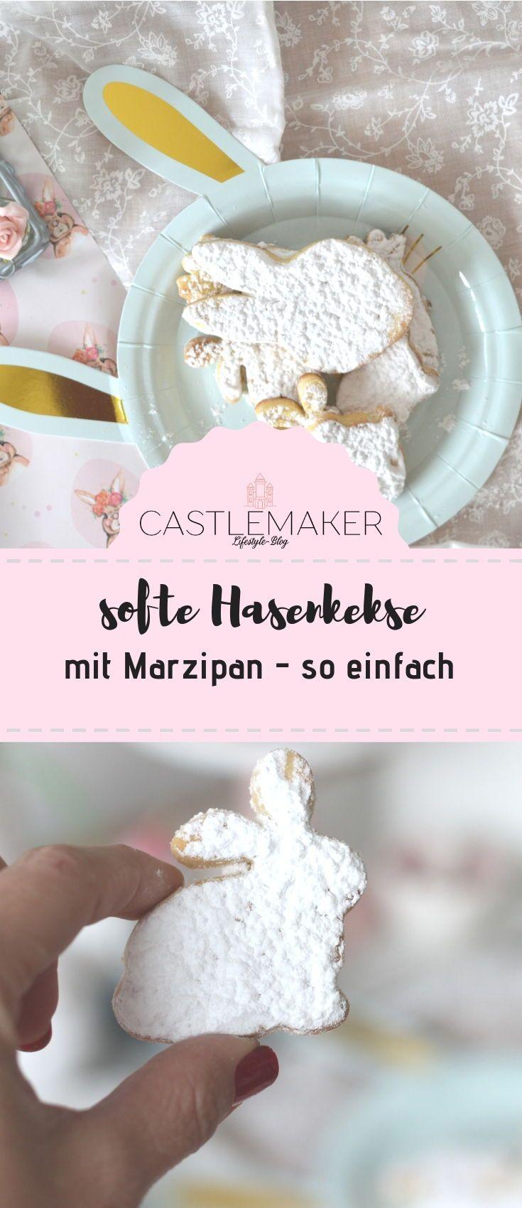 Hasenkekse mit Marzipan oder Marzipanhäschen - so einfach « CASTLEMAKER Lifestyle Blog