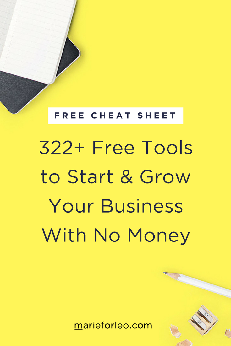 If You Ve Been Dreaming Of Starting Or Growing A Business This Guide Is For My Free Checklist And Discover 322 Tools Can Use