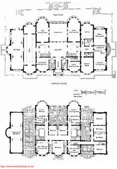 Kensington House site and floor plans James Knowles junior