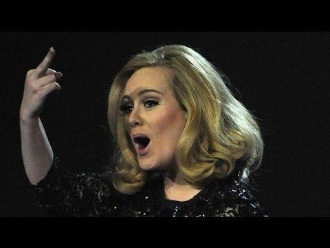 Adele S Shadiest Diva Moments Adele Brit Awards Girls Showing Off