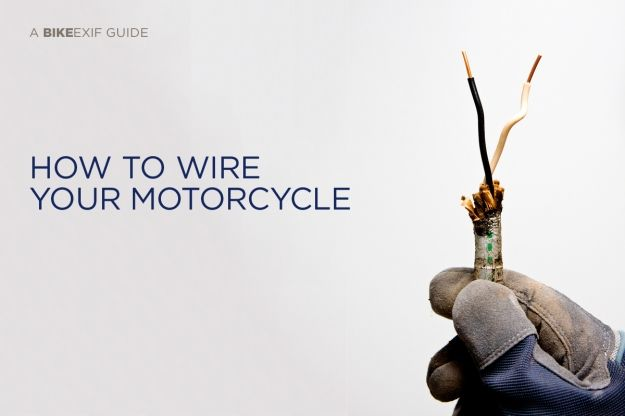 tutorial motorcycle wiring 101 cafe racers pinterest. Black Bedroom Furniture Sets. Home Design Ideas