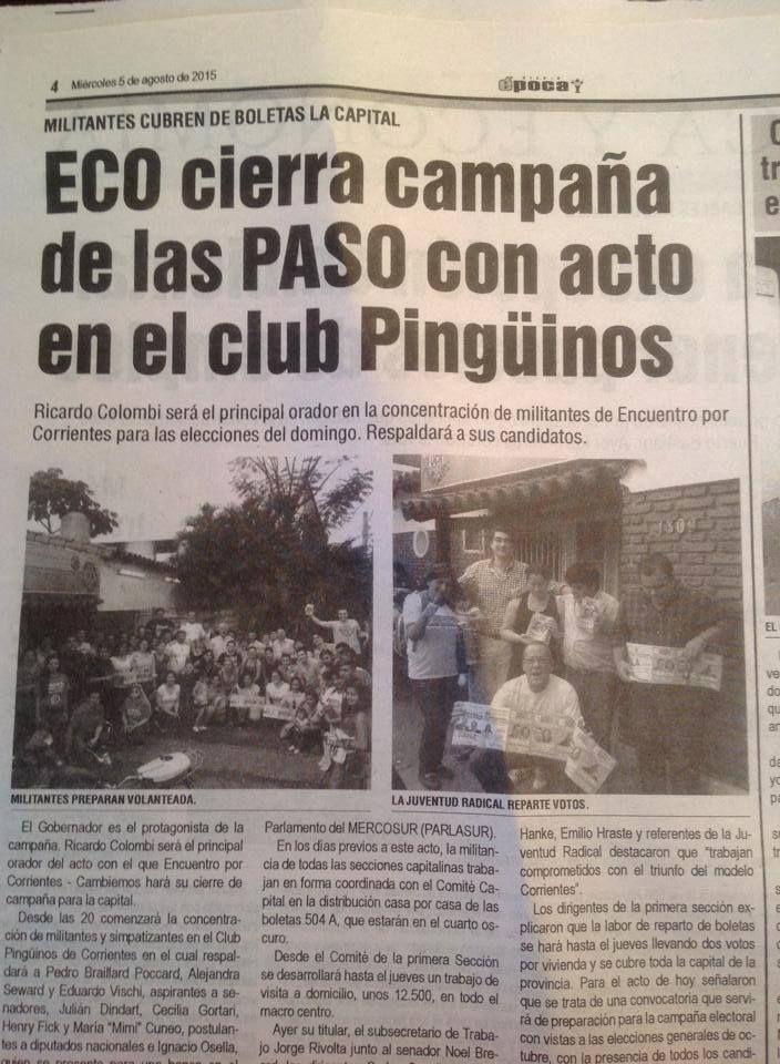 CLUB PINGUINOS, HOY! #VamosParaAdelante