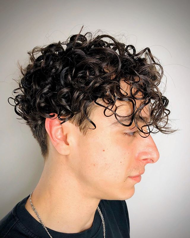 Mens Long Hair Curls Undercut Beach Wave Curls For Long Hair Long Hair Styles Men Curled Hairstyles
