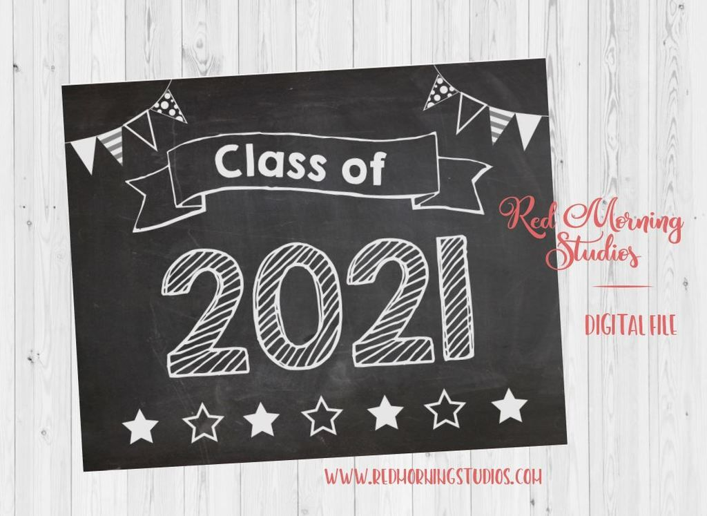 Download Class of 2021 sign - PRINTABLE | School signs ...