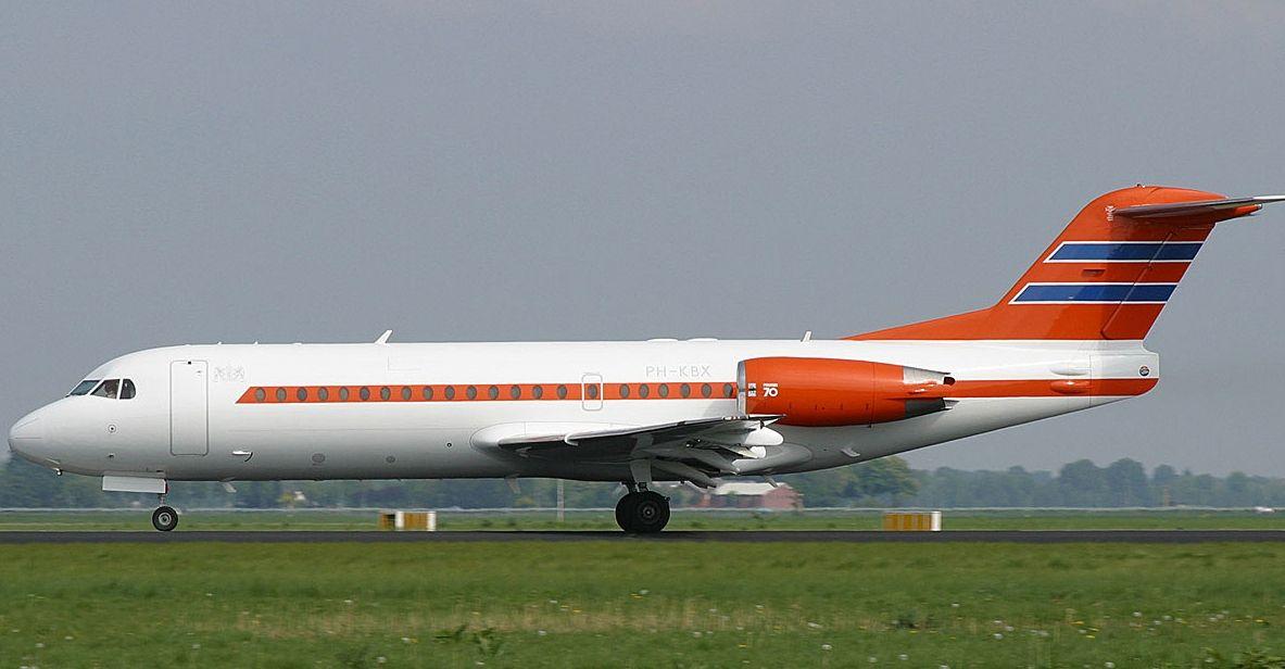 Resultado de imagen para fokker 70 Royal nederlands