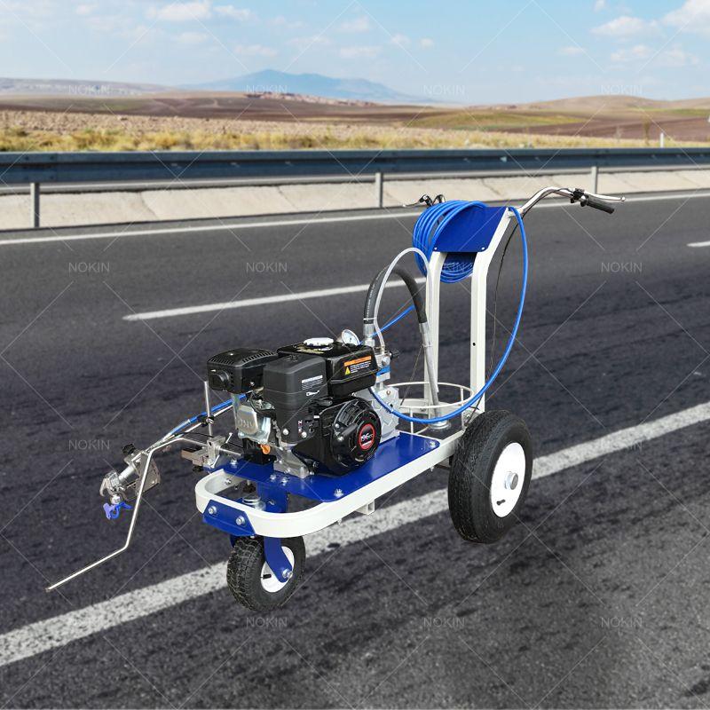 Road marking machine in 2020 Solar driveway, Solar