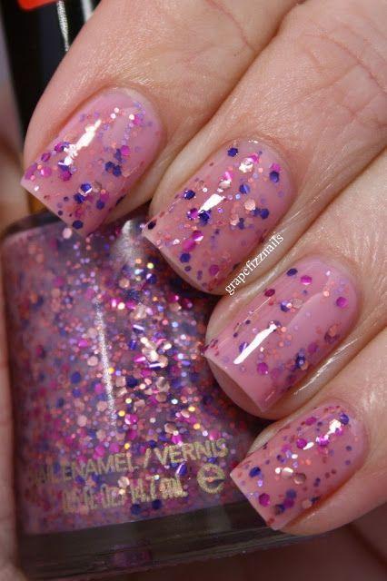 Revlon Girly.  grape fizz nails blog