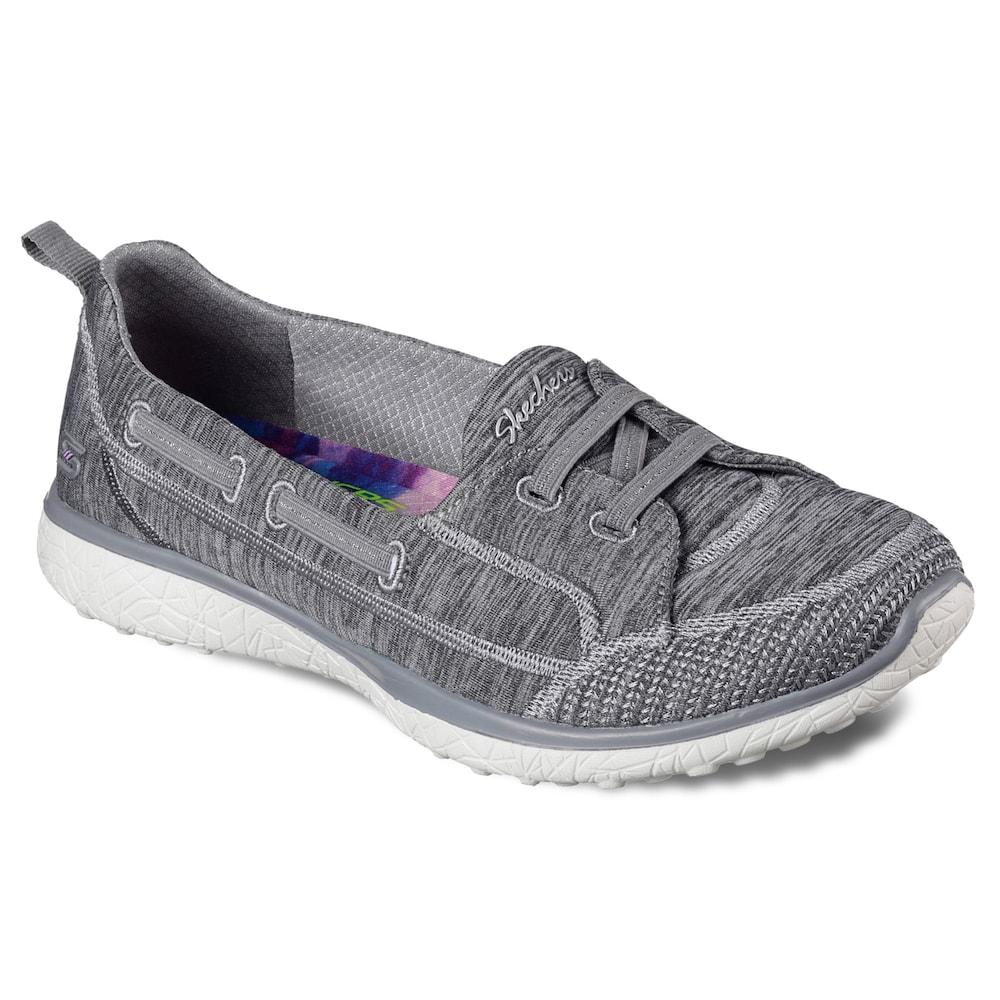 94177809af79 Skechers Microburst Flat Gore Women s Shoes