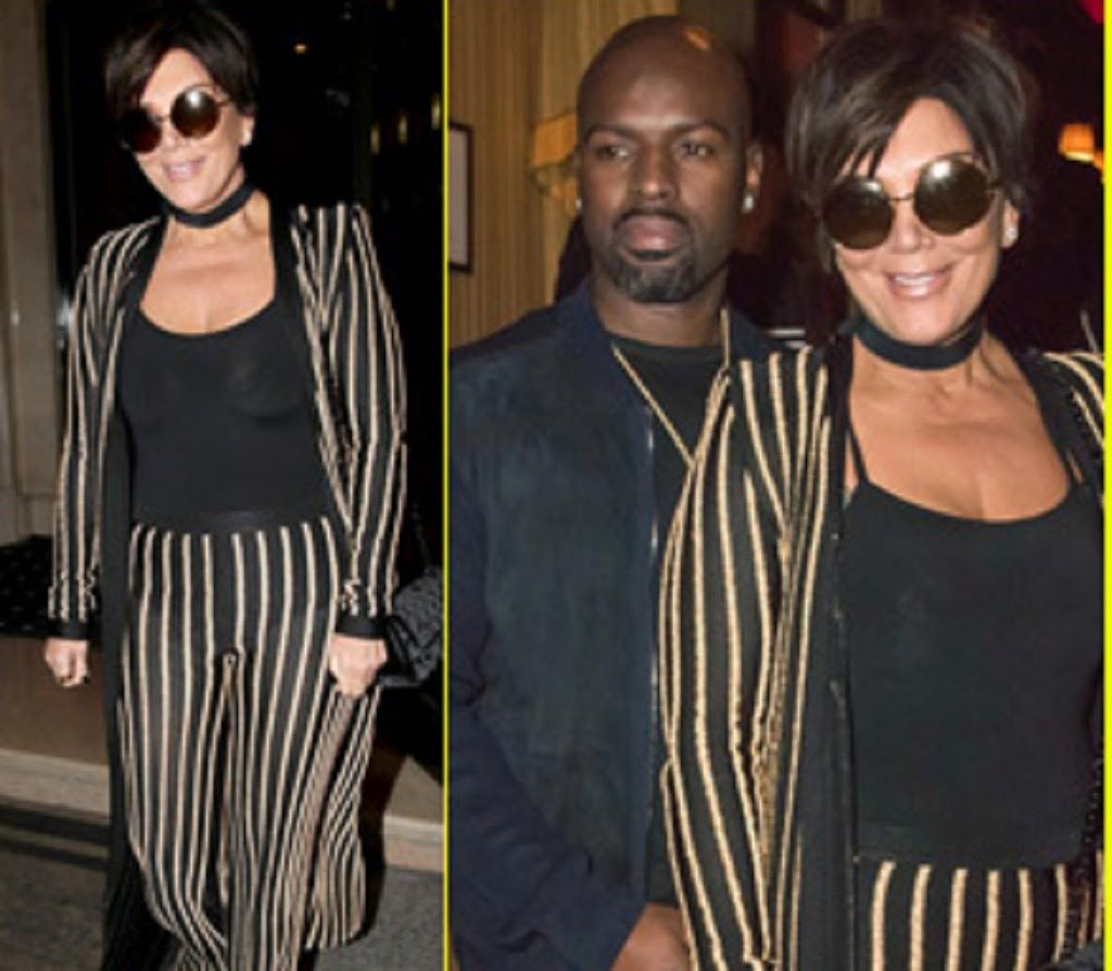 Attrayant Kris Jenner Wears An Outfit Straight Out Of Kimu0027s Closet