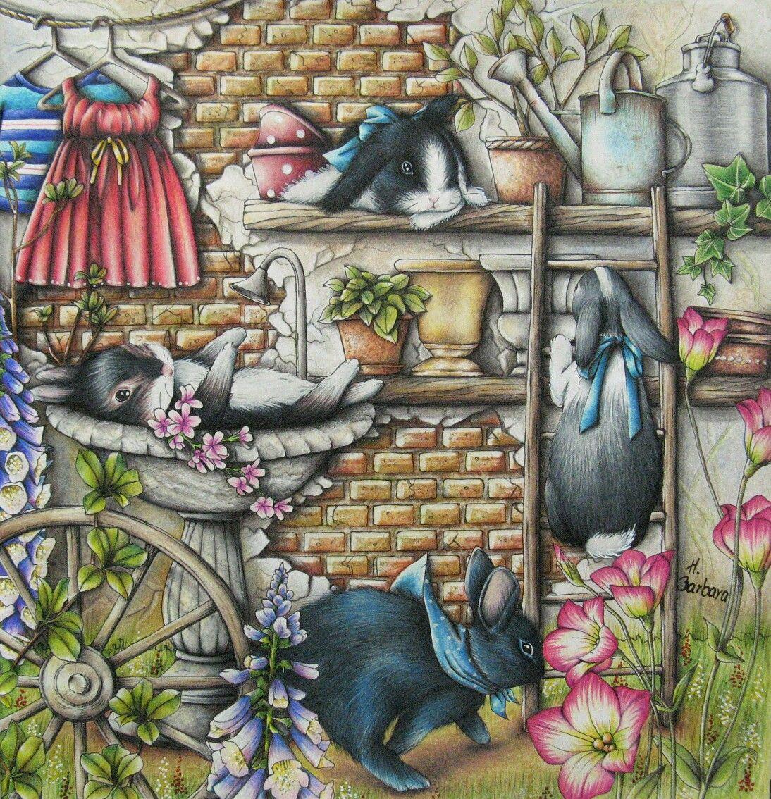 Menuet De Bonheur Colouring Book Colorful Drawings Enchanted Forest Coloring Book Enchanted Forest Coloring