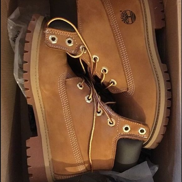 Timberland Brand new! They are size 3.5 junior Timberland Shoes Winter & Rain Boots