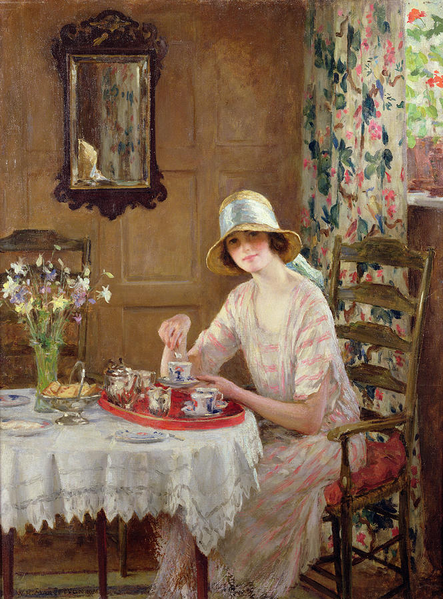 Afternoon Tea - William Henry Margetson