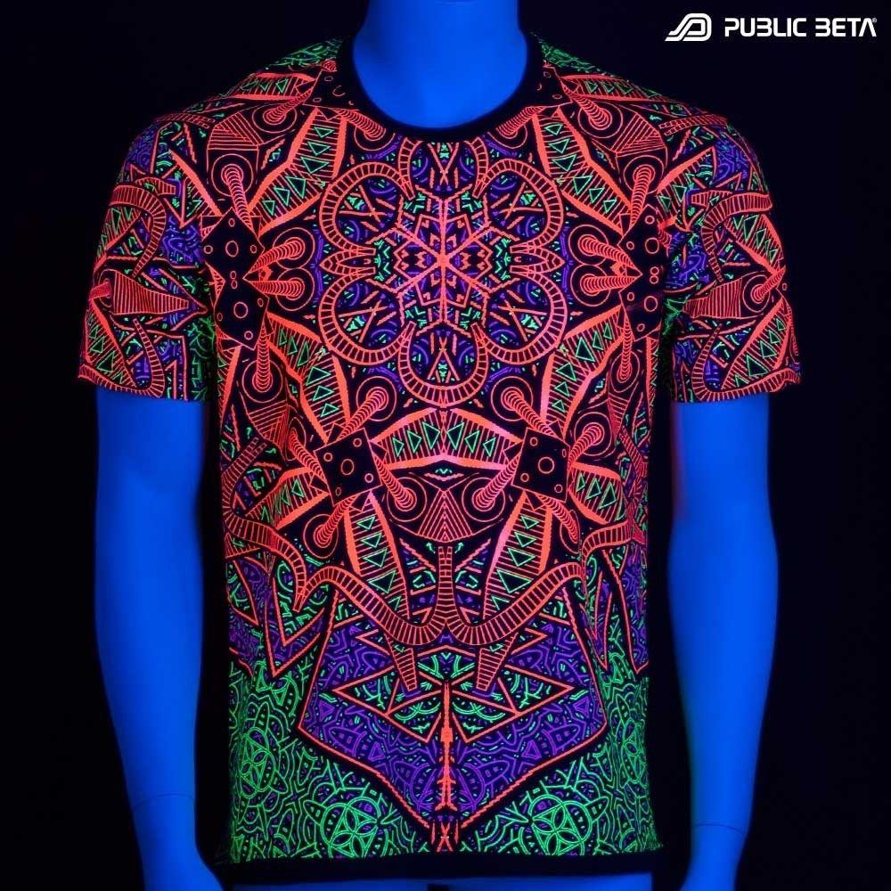 Pin by Public Beta Wear on Glow in Blacklight Psyclothing