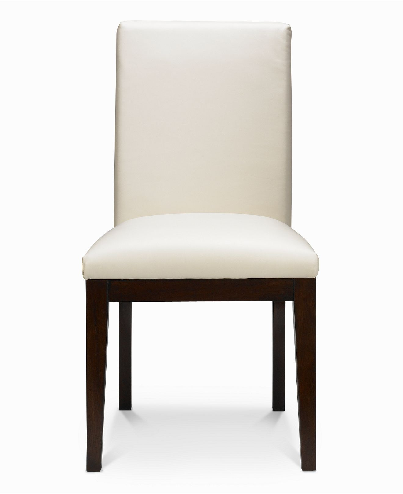 Corso Dining Chair White Leather Furniture Macy S White Leather Furniture Dining Chairs Leather Dining Room Chairs