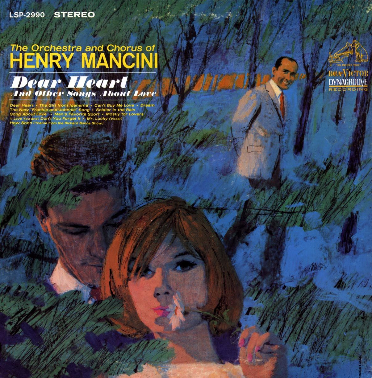 Henri Mancini's LP cover by Mike Ludlow (1921-2010)