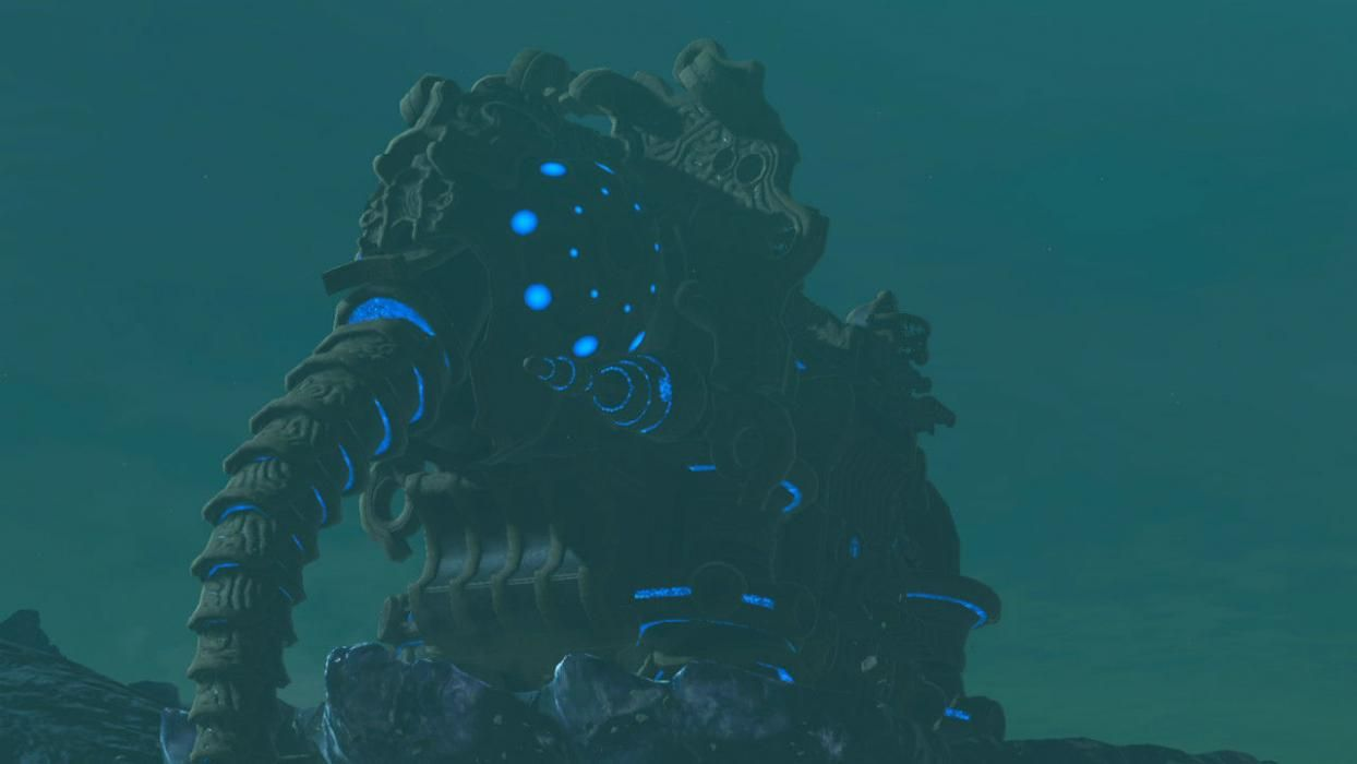 Breath Of The Wild Divine Beasts Vah Ruta Puts A Welcome