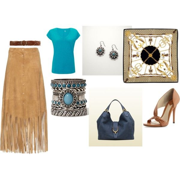 """Native American style"" by raffaellaclausi on Polyvore"