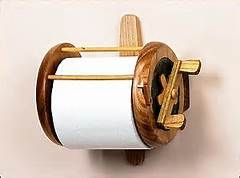 fishing reel toilet paper holder - Bing Images
