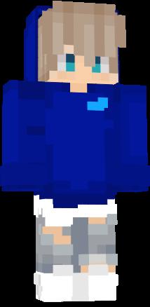 Blue Anime Boy Nova Skin Blue Anime Minecraft Skins Boy Minecraft Skins