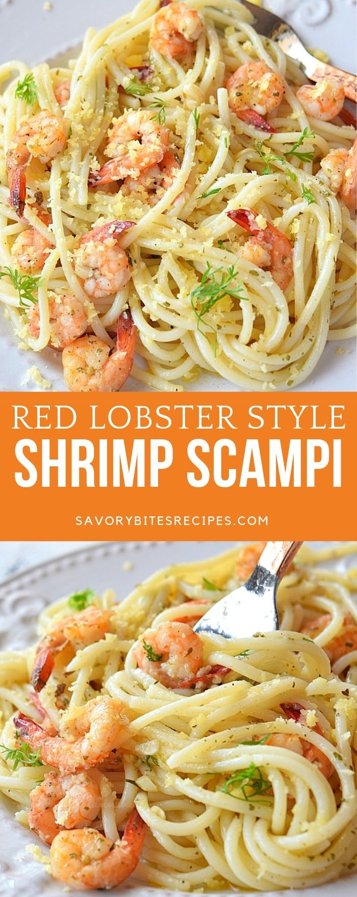 Best Red Lobster Copycat Shrimp Scampi #shrimpscampi