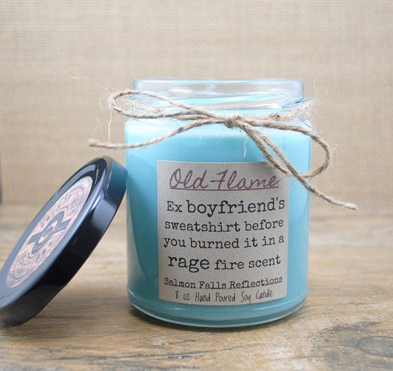 Break Up Gift 90s Unisex Fragrance Scented Candle Funny Ex