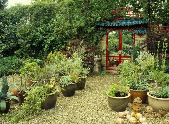 Green Asian Garden Keywords: Garden Structure, Gardening, Oriental ...