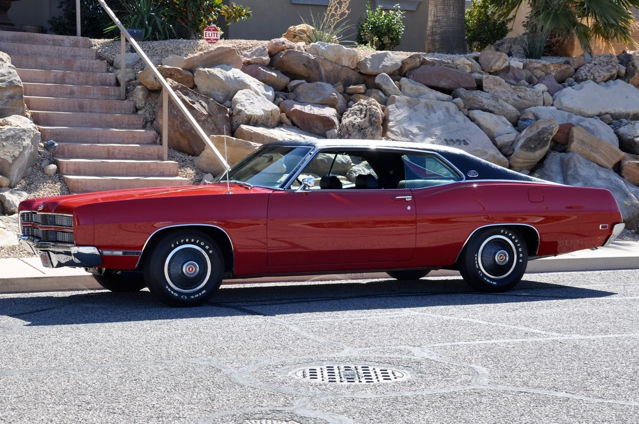 1969 ford galaxie xl 2 door sportsroof 429 4v big block t10 4speed