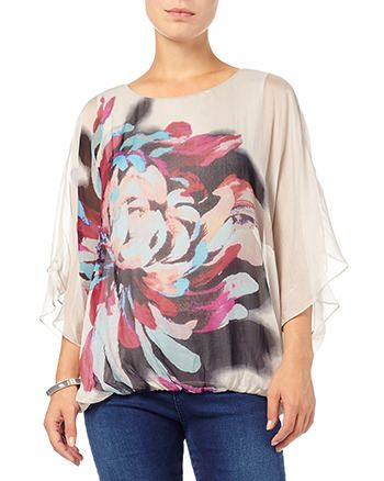 Phase Eight Dorika Placement Floral Silk Blouse Clearance Browse SUI4skjxhQ