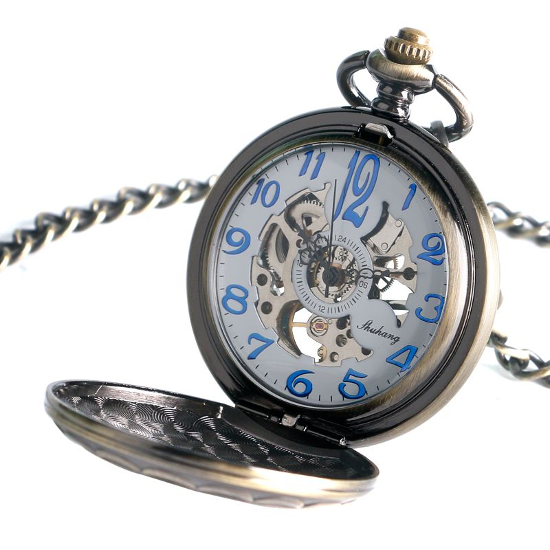 $11.99 (Buy here: https://alitems.com/g/1e8d114494ebda23ff8b16525dc3e8/?i=5&ulp=https%3A%2F%2Fwww.aliexpress.com%2Fitem%2FAntique-Skeleton-Blue-Arabic-Numera-Dial-Mechanical-Hand-Wind-Long-Fob-Chain-Clock-Men-Pocket%2F32711249715.html ) Antique Skeleton Blue Arabic Numera Dial Mechanical Hand Wind Long Fob Chain Clock Men Pocket Watch Doctor Who Gifts for just $11.99