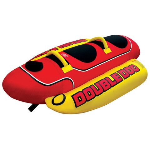 Airhead Double Dog Towable Tubes Water Sports Boat Tubes