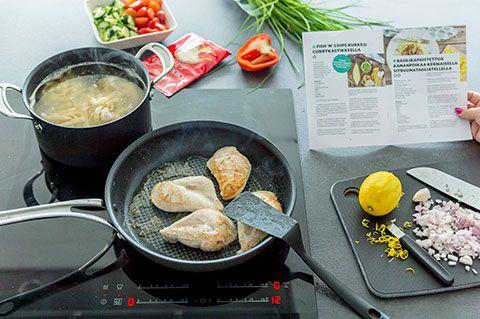 Sannan ruokakassi: valmistaminen