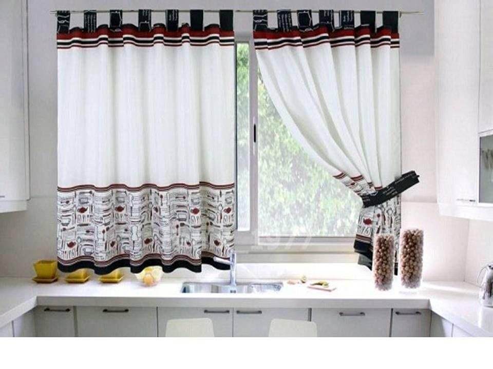 Cortinas Para Cocina Guia De Decoracion Con Modelos Ideas Y Fotos Cortinas Para Cocina Cortinas Para Cocina Pequena Y Estilos De Cortina