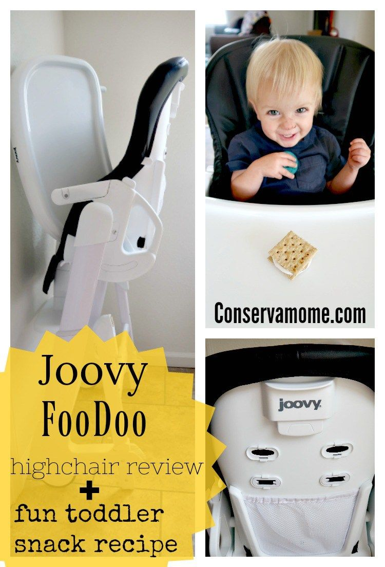 Joovy Foodoo High Chair Fun Toddler Snack Recipe With Images Toddler Snacks Toddler