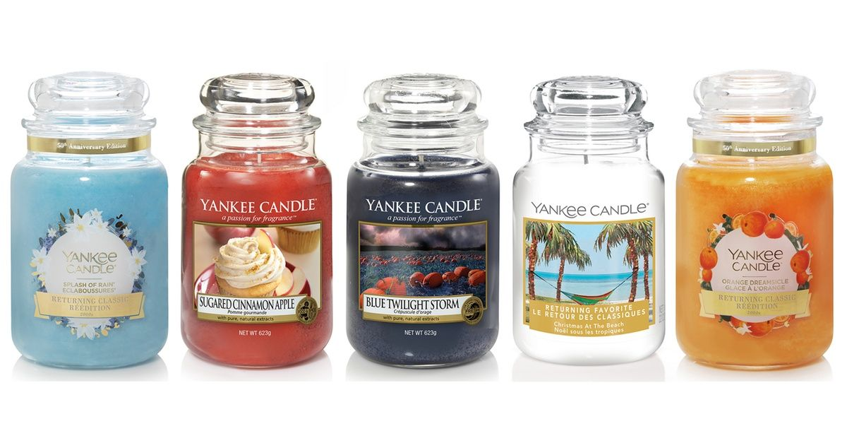 Yankee Candle Vanilla Cupcake Grosses Glas 623 g duftkerze