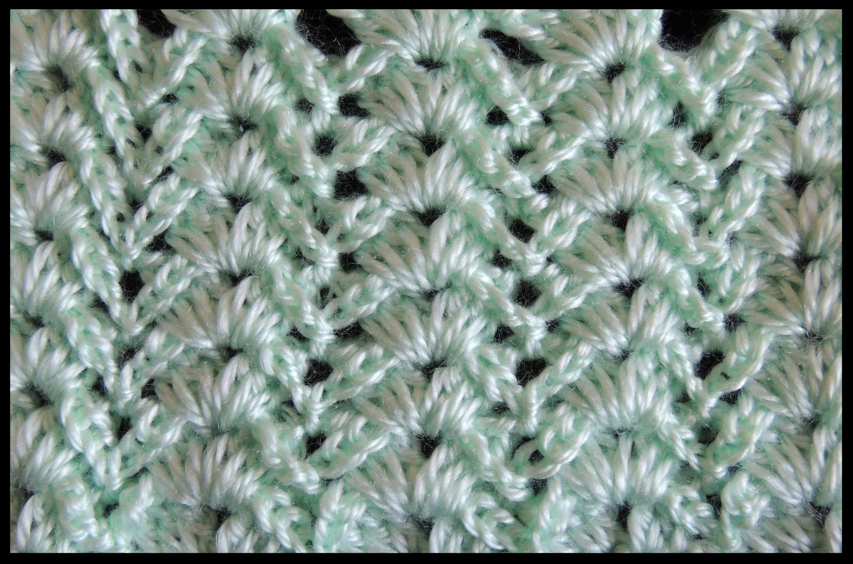 Crochet Punto Fantasia 8 Punti Uncinetto