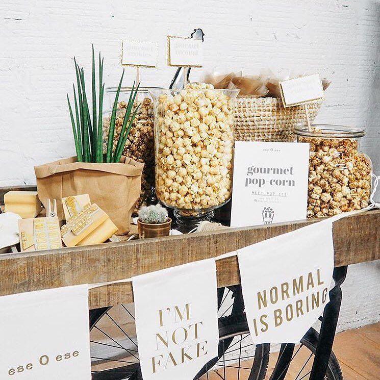 Nuestro Cycle Trolley hecho un Gourmet pop-corn por las chicas de @eseoesestyle  Mobiliario de Estilo Vintage e Industrial Singular Market. Entra en nuestra e-shop y echa un vistazo a todo lo que podemos ofrecerte!