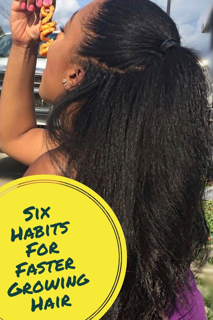 Six Habits that give Your hair INCHES of growthgive