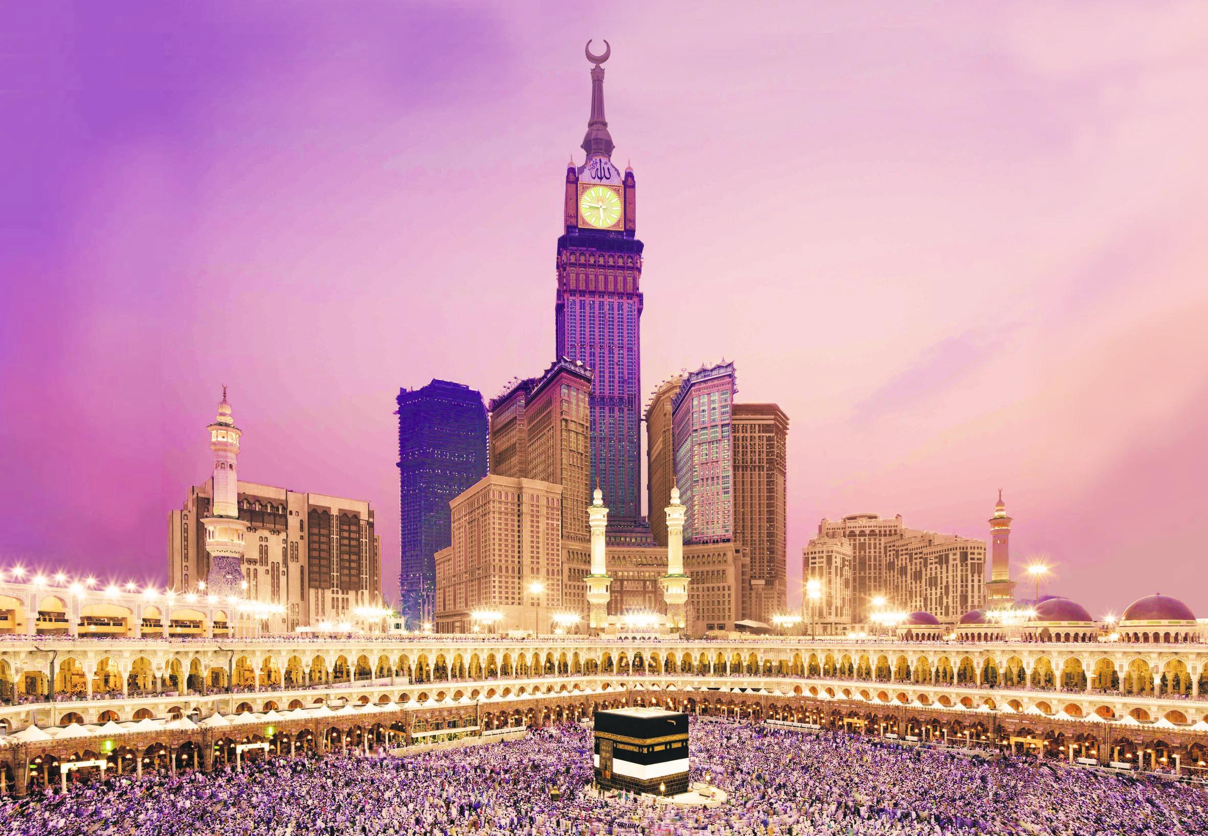 Abraj Al Bait Towers And Ka Bah Mekkah Desktop Backgrounds For Free Hd Wallpaper Wall Art Com Mekkah Mekah Mesjid