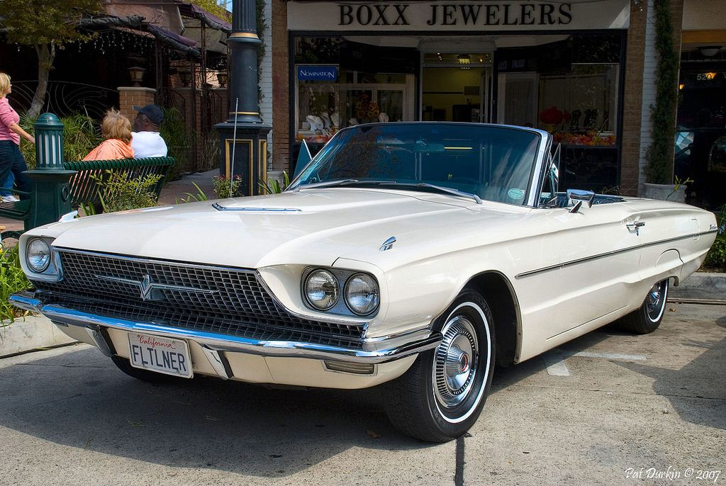 1966 Ford Thunderbird 76A Convertible white fvl Ford