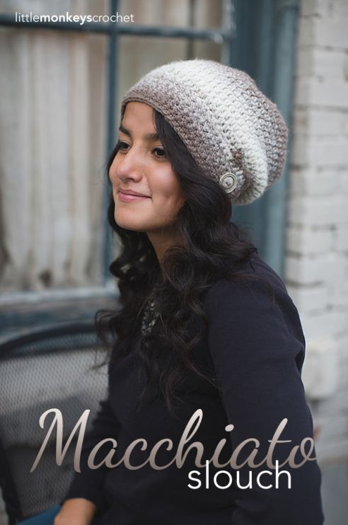 The Macchiato Slouch Hat Free Pattern Pinterest Slouchy Hat