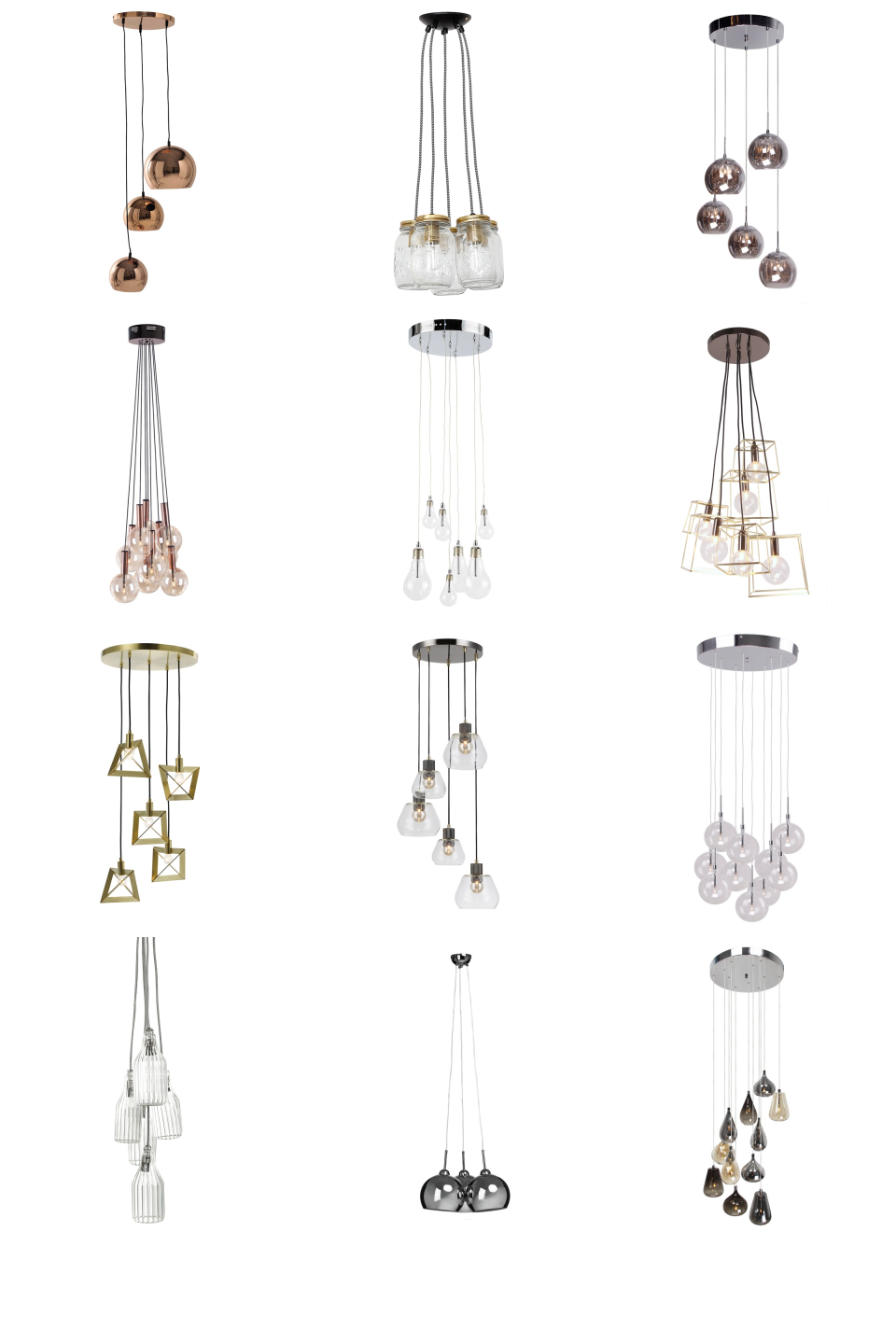 Cluster Lights Inspiration Board Cluster Ceiling Light Ideas For Your Hallway Dining Room Kitche Stair Lighting Pendant High Ceiling Lighting Stair Lighting