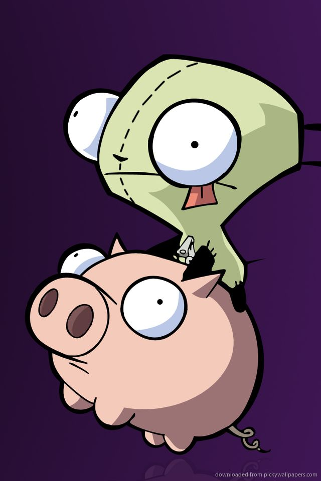 Invader Zim Iphone Wallpaper Download Iphone Wallpaper Club Invader Zim Cute Drawings Invader Zim Characters